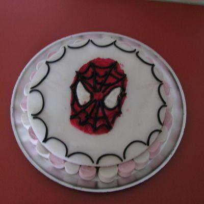 Gateau spiderman