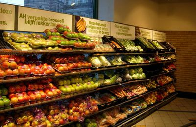 Albert Heijn, Amsterdam, des fruits qui font envie