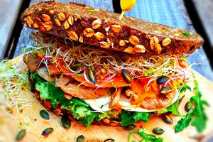 """Le Sandwich """"Automne"""" au Pain de la Rade"""
