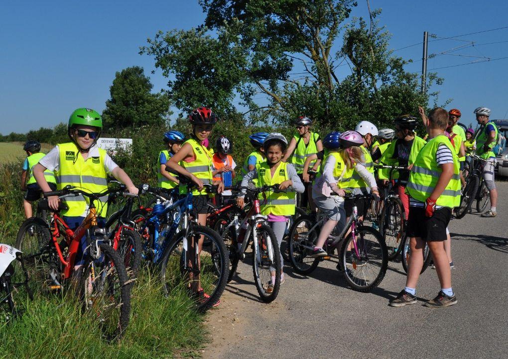 À vélo vers les mares de Grosfy !
