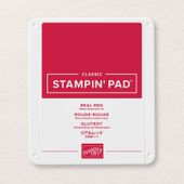 Tampon Encreur Classic Rouge-rouge