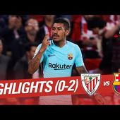 Resumen de Athletic Club vs FC Barcelona (0-2)