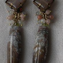Boucles d'oreille clip. Créateur de bijoux Paris.