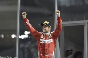 """Marchionne : """"Ca ne sert à rien de parler de l'avenir"""" de Sebastian Vettel"""