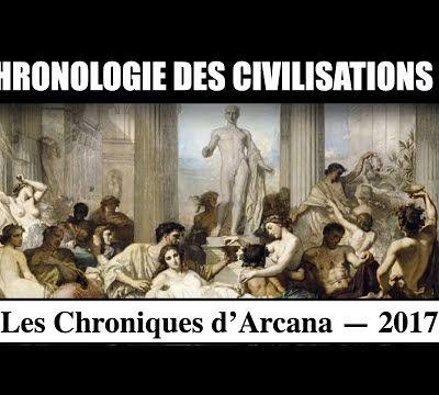 Chronologie des Civilisations ( Partie 1 )