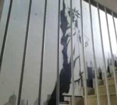"""Mural """" Estatua de la Libertad"""""""
