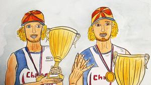 Champions de France baby !