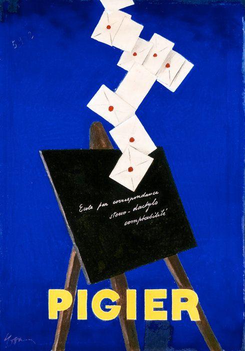 PUBLICITES : LES GRANDS NOMS DE L'AFFICHE... CAPPIELLO  (PARTIE 5)