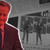 """Vidéo. L'histoire du Brexit en vidéo, épisode 1 : """" Le pari raté de David Cameron """""""