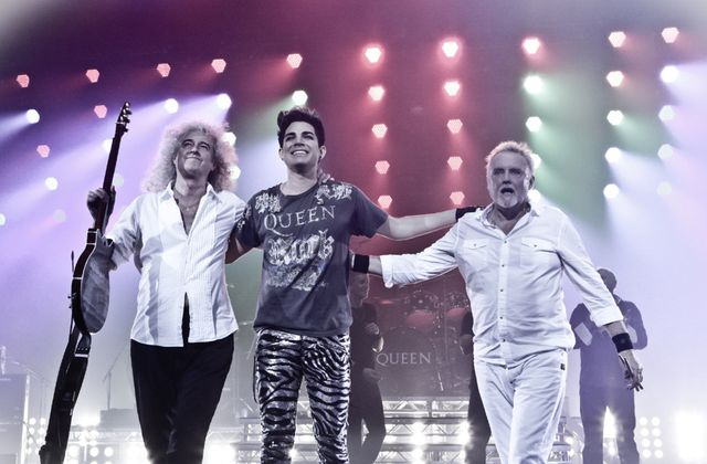 ° Queen + Adam Lambert & Co au Zénith de Paris ° (via Zikeo)