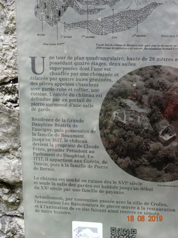 Mes randos : Le funiculaire à St Hilaire du Touvet