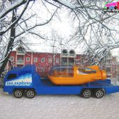 TRANSPORTEUR SEA EXPLORER + BATYSCAPHE YELLOW SUBMARINE MAJORETTE 1/100 - car-collector.net