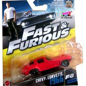 CHEVROLET CORVETTE 1966 FAST AND FURIOUS 8 MATTEL 1/55. - car-collector.net