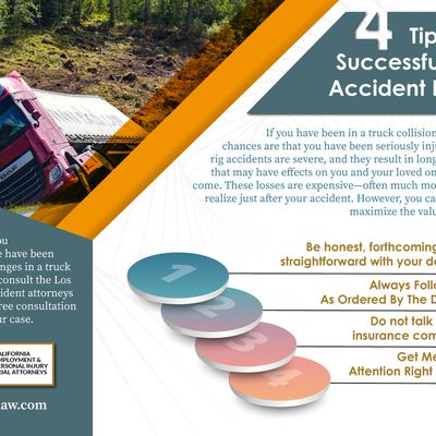 4 Tips For A Successful Truck Accident Lawsuit