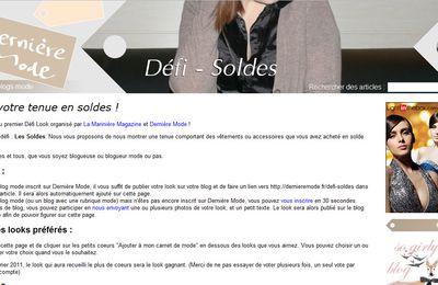 Défi Look by Dernière Mode