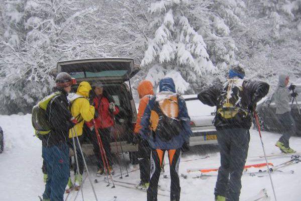 Tricotage aux Pourettes - Sortie manips avec le CAF DSA - 12 janvier 2008