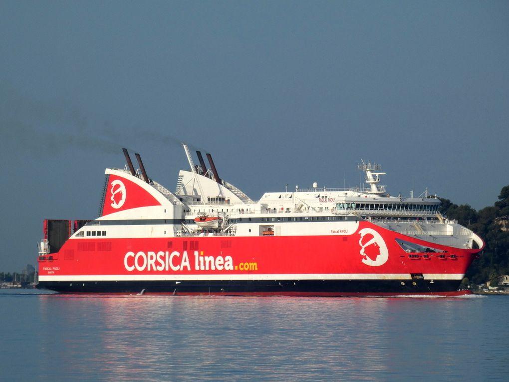 PASCAL  PAOLI , arrivant à Toulon le 22 juin2019