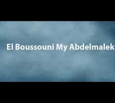 Mr.el boussouni my abdelmalek