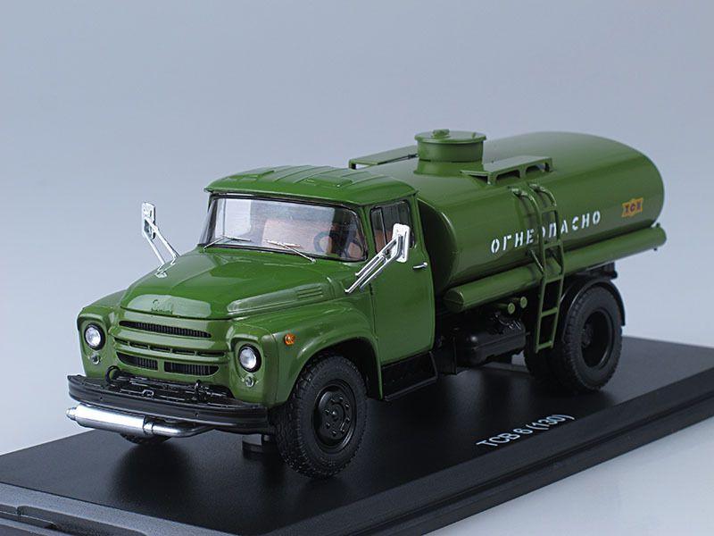 SSM1029 Military tanker truck TSV-6 (ZIL-130) /khaki/