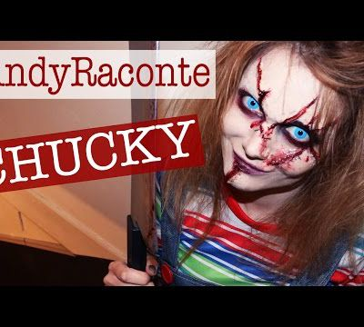 maquillage haloween: chuky