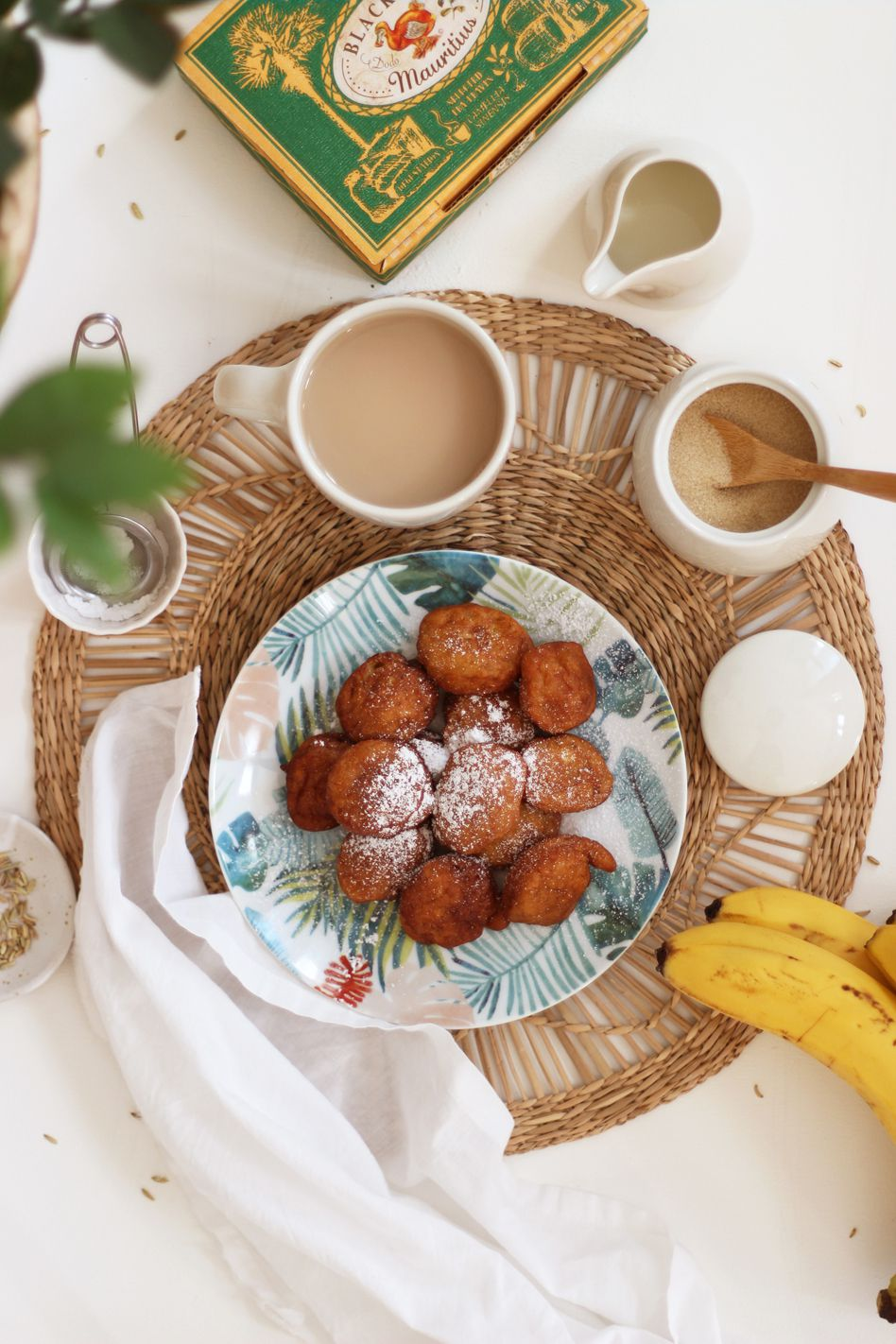Beignets de banane, les petites douceurs d'île Maurice