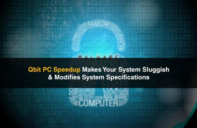 Remove Qbit PC Speedup PUP from your computer system