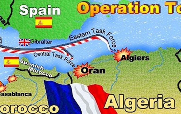 NOVEMBRE 1942 -OPERATION TORCH- DRAME POUR LA MARINE