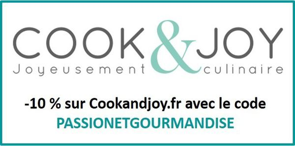 Partenariat Cook and Joy