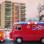 FASCICULE N°68 FOURGON AUSTIN ROVER J4 BMC SERVICES GARAGE DU PALAIS - car-collector.net