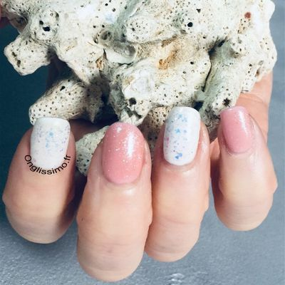 nail art Naturel chic et choc