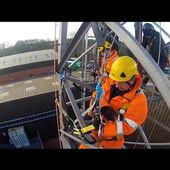 Tower Rescue Training at Total Access (UK) Ltd including delegates