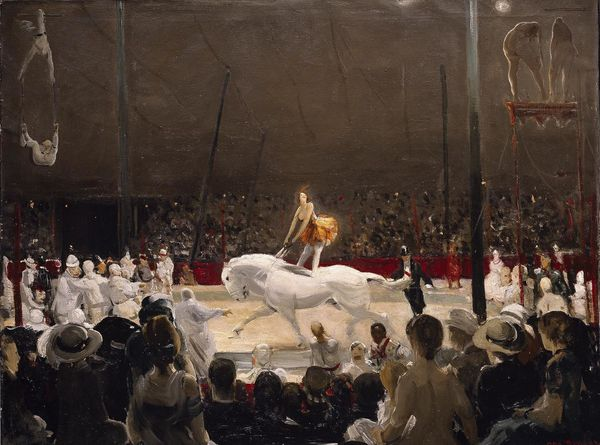 Circus, (Addison Gallery of American Art, Massachusetts)