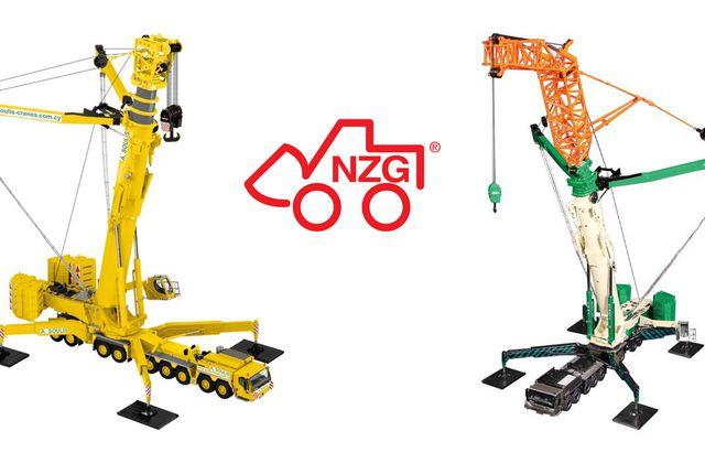 1/50 : NZG sort des grues mobiles Liebherr LTM11200-9.1