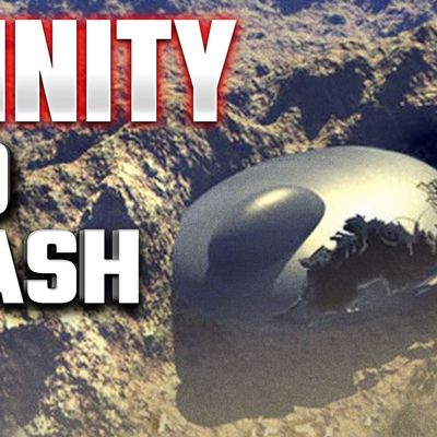 """US covered up """"ANOTHER ROSWELL"""" when giant UFO crashed in 1945 I TRINITY: The Best Kept Secret 👽"""