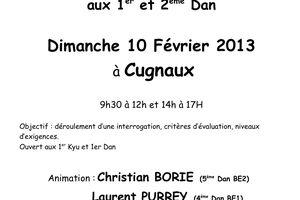 Journée de préparation aux grades Dan d'Aikido en Midi Pyrénées