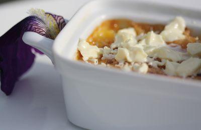 Crème au chocolat blanc