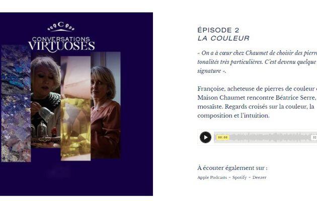 Streaming : la marque de luxe CHAUMET propose des podcasts