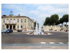Place de la libération à Auch