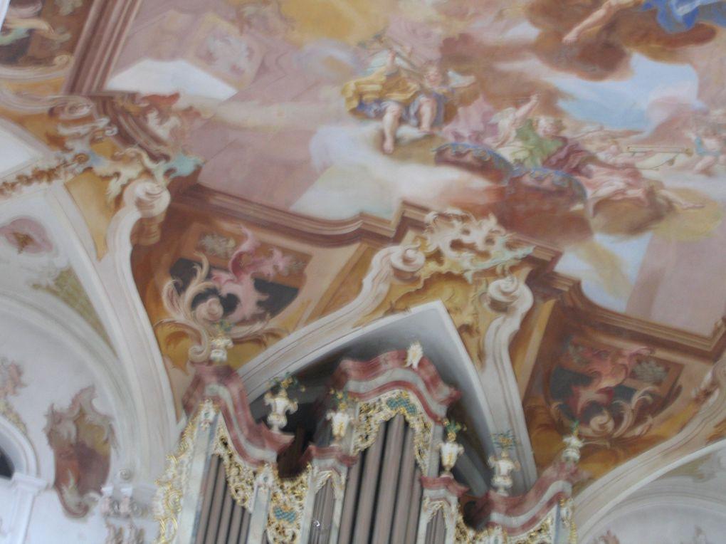 Brégence, situe sur la rive gauche du lac de Constance. Le temps fort est le Festival, pour lequel des réalisateurs mettent en scène des spectacles d'opéra sur une scène lacustre, avec l'Orchestre de Vienne. Photos: Mariela et Emmanuel CRIVAT