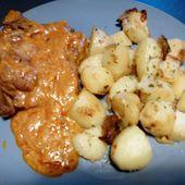 Côtes de porc échine au curry au cookéo - Mes Meilleures Recettes Faciles