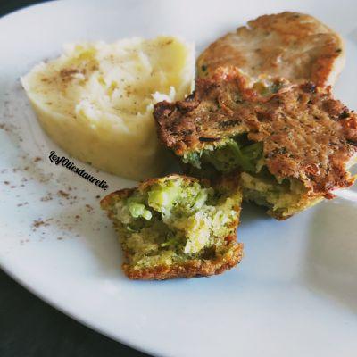 Les muffins brocolis à la cancoillote