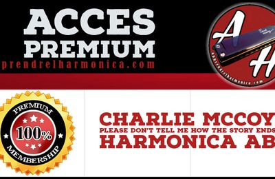Charlie McCoy - Please Don't Tell Me How The Story Ends - Harmonica Ab