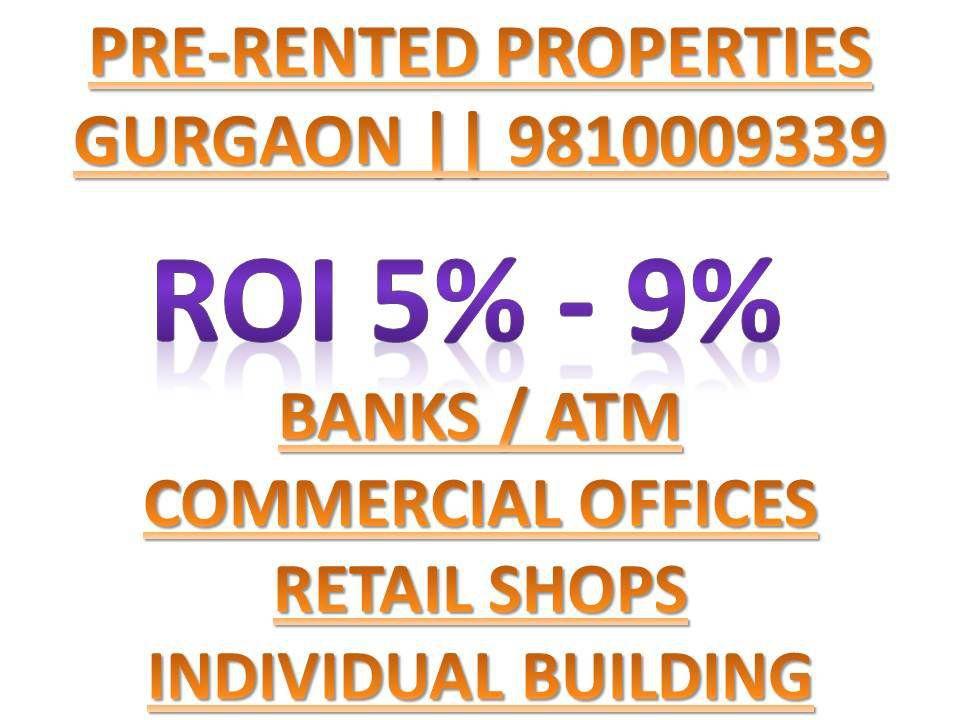 pre-rented properties for sale in gurgaon, pre-leased property for sale in gurgaon,