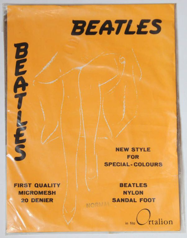 BEATLES Nylon Stockings vintage