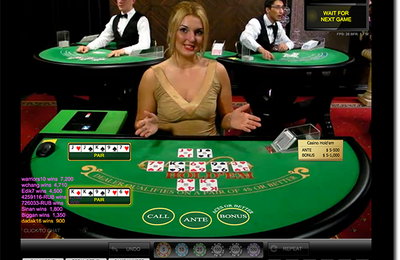 Jouer au casino Hold'em en direct en ligne