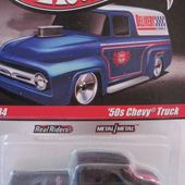 50'S CHEVY TRUCK PICK UP DOUBLE CABINE HOT WHEELS 1/64 - car-collector.net