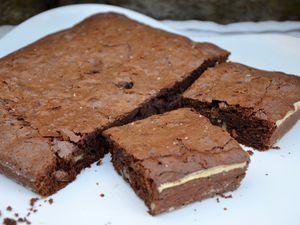 Brownie traditionnel aux noix de pécan