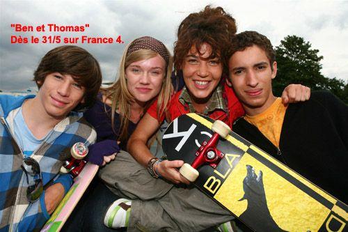 La série Ben et Thomas dès aujourd'hui sur France 4.