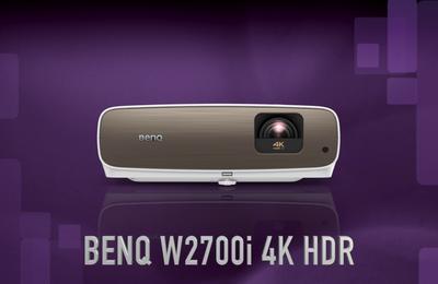 #TEST: VIDÉOPROJECTEUR BENQ W2700i 4K HDR