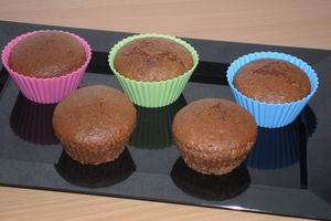 Muffins coco cacao